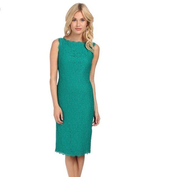 Adrianna Papell Dresses & Skirts - Adrianna Papell Sleeveless Lace Cocktail Dress